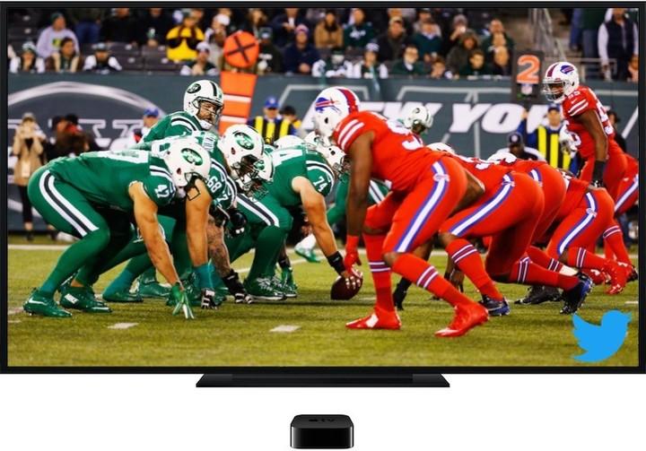 Apple TV tie-up talk tweaks Twitter shares upward